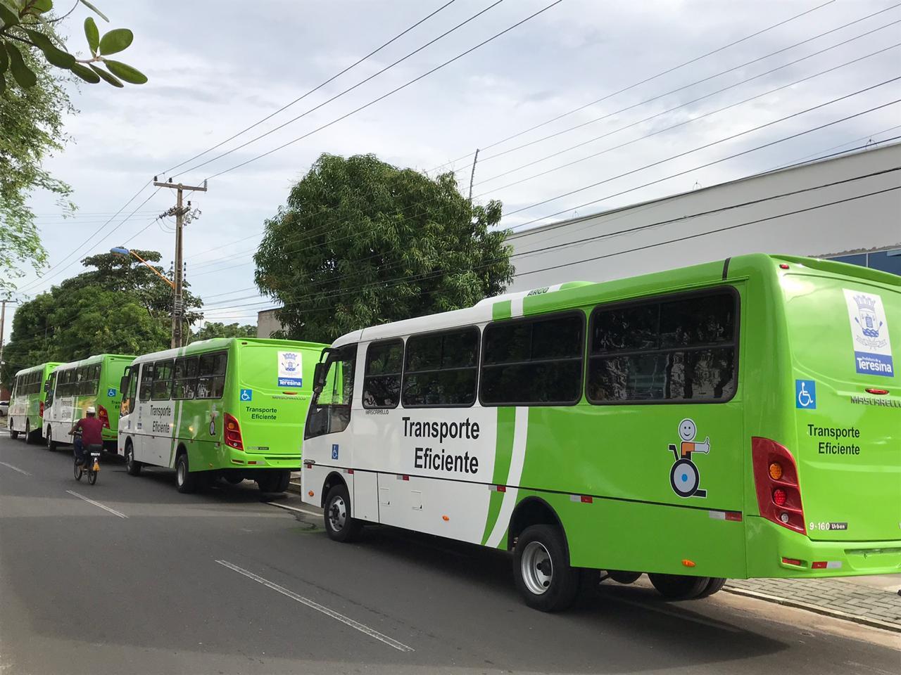 PI: Prefeitura de Teresina triplicou frota do Transporte Eficiente para beneficiar pessoas com mobilidade reduzida