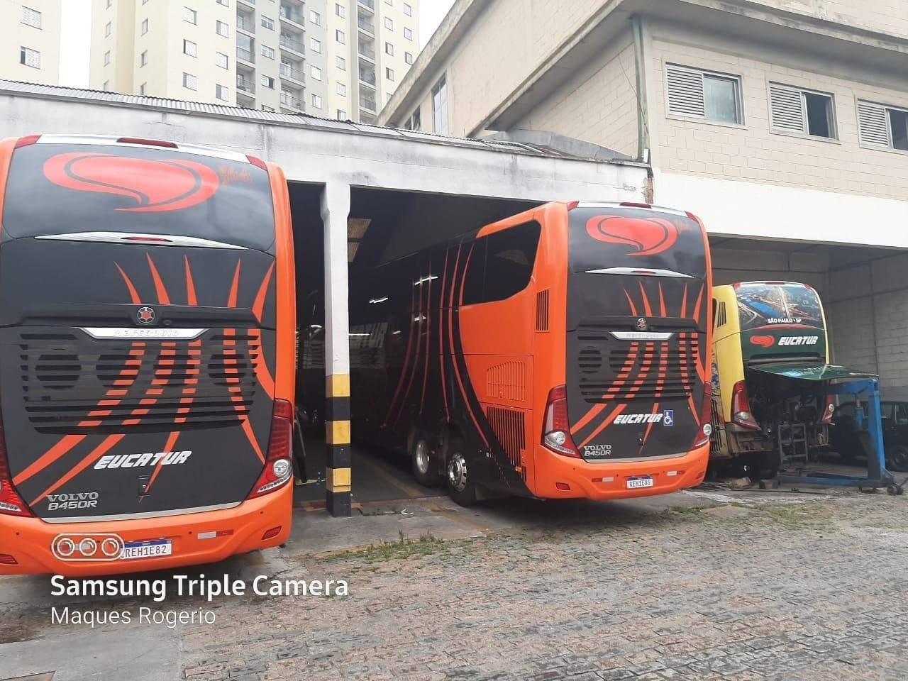 Eucatur aluga ônibus da Catedral