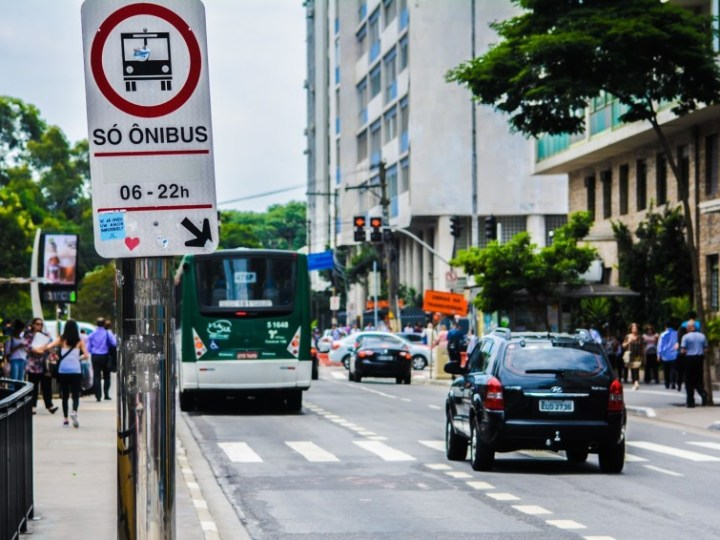Corredores de ônibus reduziriam tempo de viagem em até 30%
