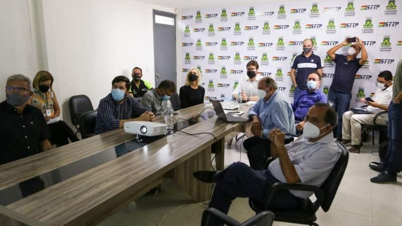PB: Transporte público de Campina Grande está falido, dizem empresários em audiência com prefeito