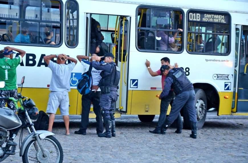 RN tem menores índices de roubos a ônibus desde 2018