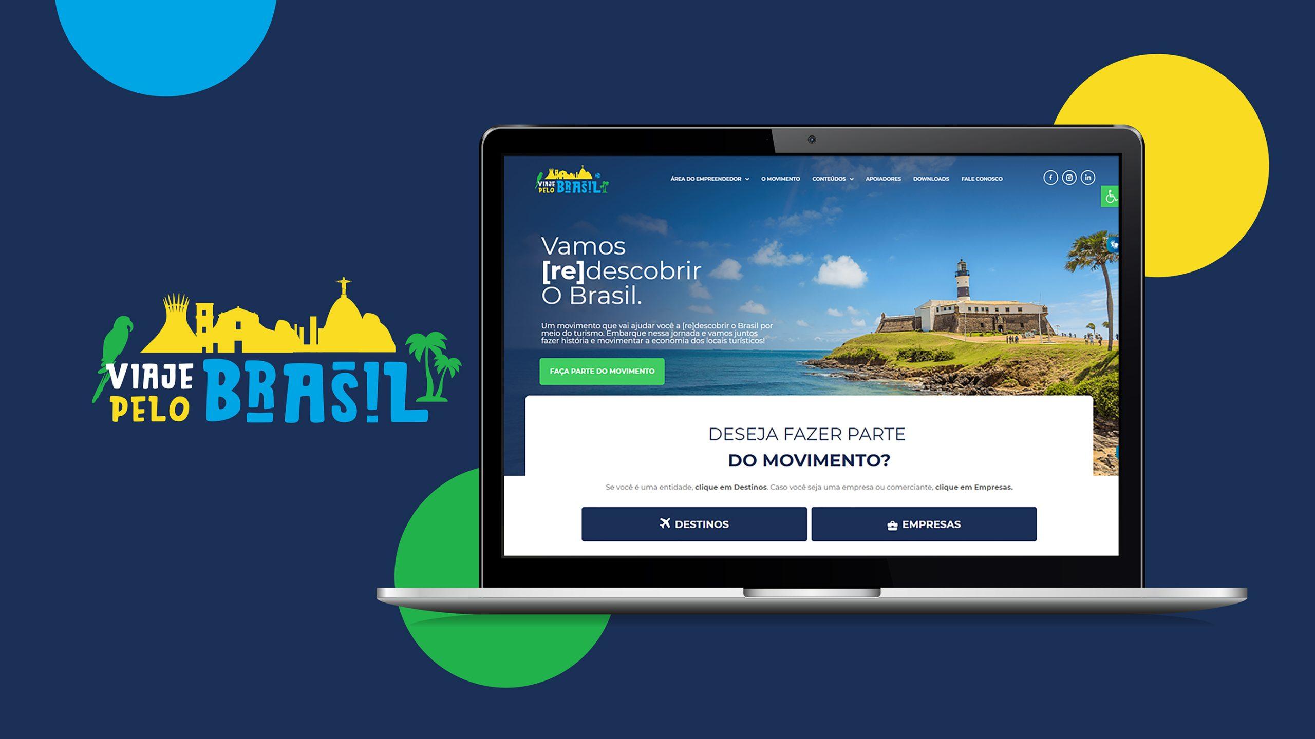 """""""Viaje pelo Brasil"""", criado pela Marcopolo, completa um ano com 330 empresas participantes e 28 destinos contemplados"""