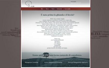 Ilixi sito web home page - seconda proposta