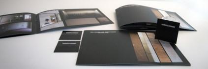 immagine coordinata elegante nera