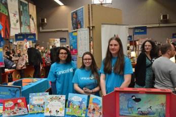 Fête du Livre Jeunesse de Villeurbanne - Ambassadrices UNICEF Rhône