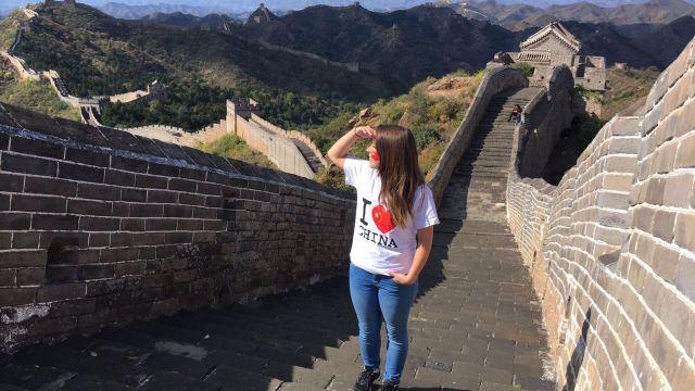 Elegí ir a China por que era lo opuesto a todo lo que conocía.