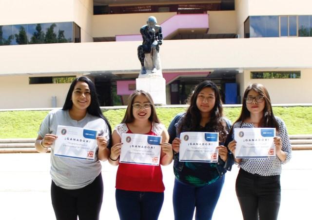 Alumnas Uni ganan beca internacional