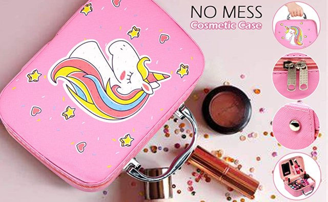 Kids Makeup for Girls - Unicorn No Real Cosmetic Kids for Girls