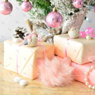 UD Pink Christmas 3 © Unicorn Dreamlandia Styled Stock