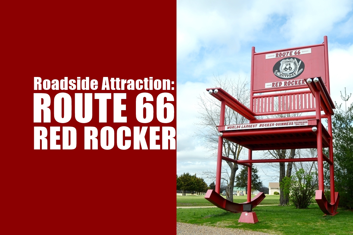 Stupendous Route 66 Red Rocker Unicorn Hideout Alphanode Cool Chair Designs And Ideas Alphanodeonline
