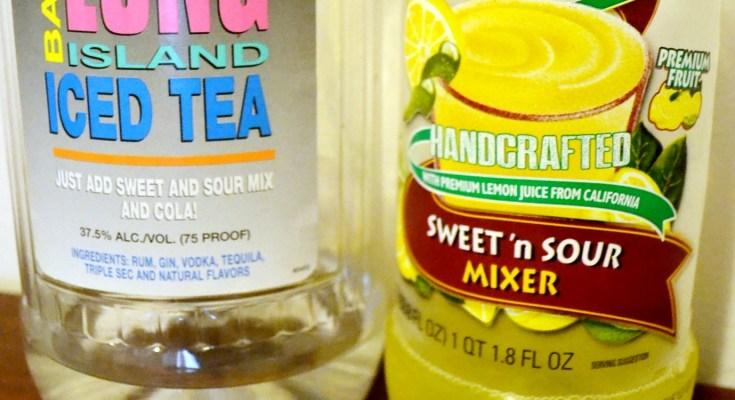 Long Island Iced Tea Jello Shot