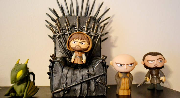 Game of Thrones Mystery Minis and DIY Iron Throne