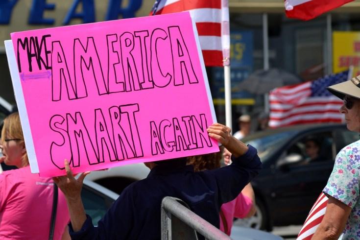 Trump Protest Signs