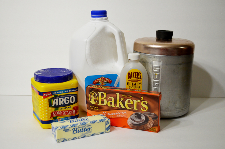 Carl's Chocolate Pudding Pie ingredients by Unicorn Hideout