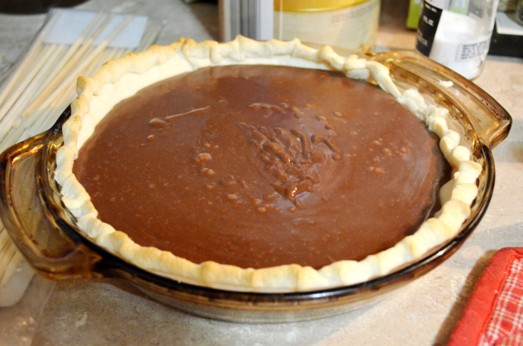 Carl's Chocolate Pudding Pie poured by Unicorn Hideout
