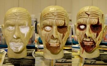 Easy Zombie Head Prop Painting Tutorial