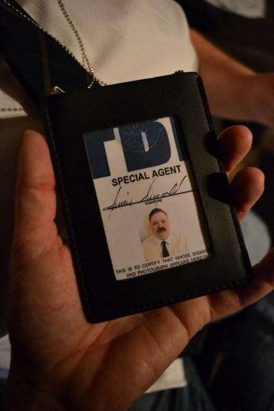 Costume Prop FBI Badge