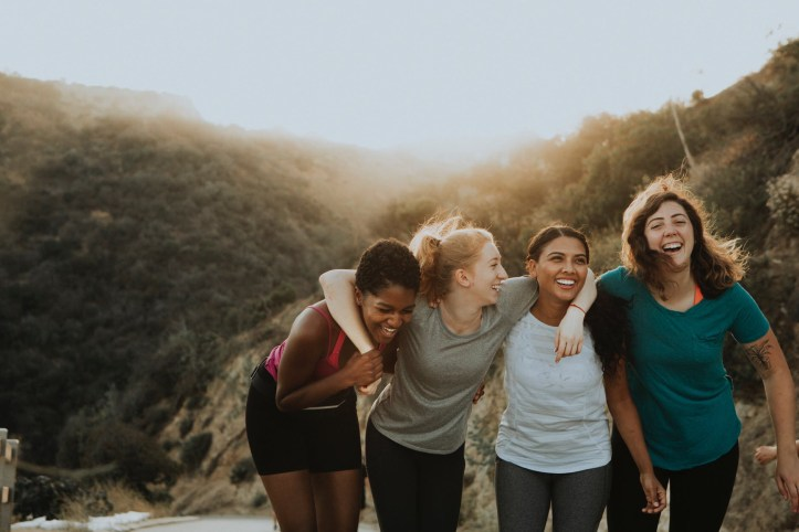 Group of women friends together