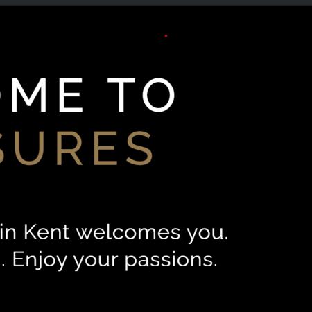 Pleasures in Kent webpage image