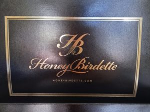 Honey Birdette shopping bag