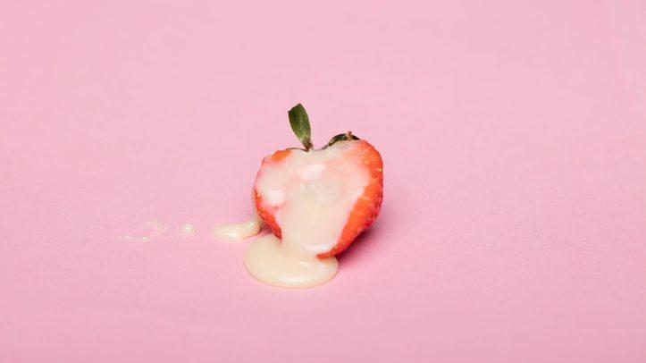 orgasms- strawberry with cream