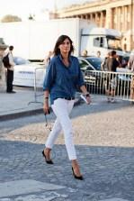 la modella mafia Emmanuelle via stockholmstreetstyle