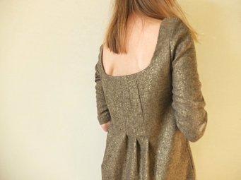 sukienka 109b burda 12 2015 unicornisbytysia welniana sukienka 7