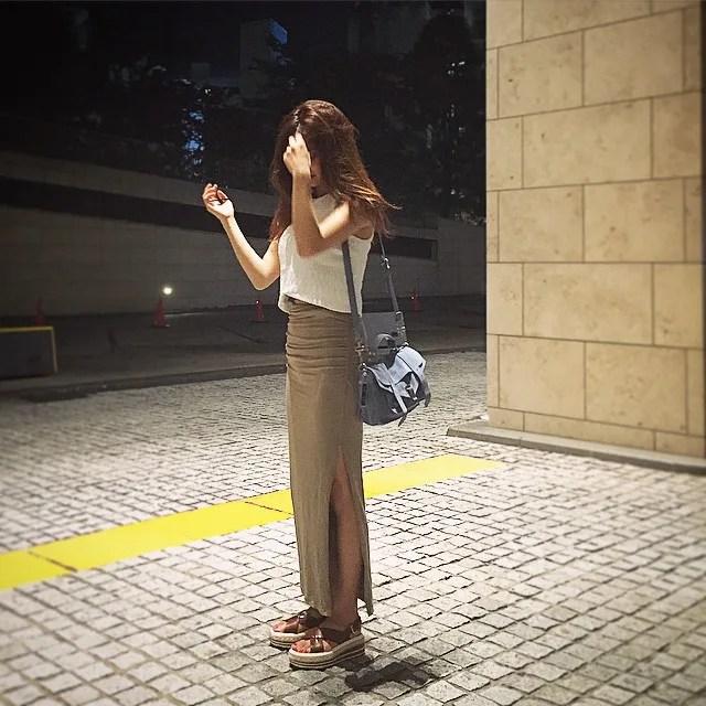 中村アンの私服画像