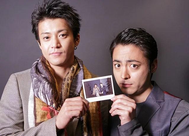 山田孝之と小栗旬の画像