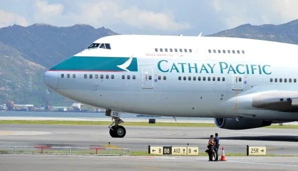 キャセイ航空の画像