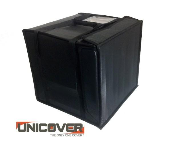 borsa termica cubo black porta pizza 41x41