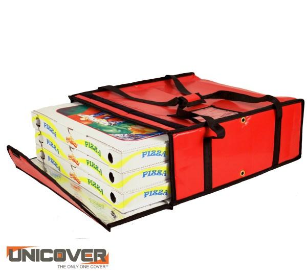 Borsa per pizza giga termica rossa