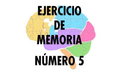 Ejercicio de Memoria 5