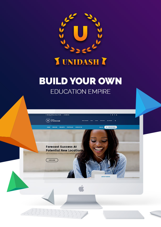 Unidash - WordPress Theme for University and Online Education - 8