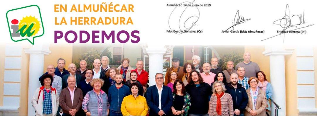 Acuerdo de investidura Almuñécar 2019