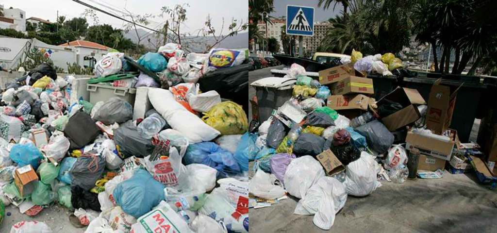 Recogida de basura El Mirlo