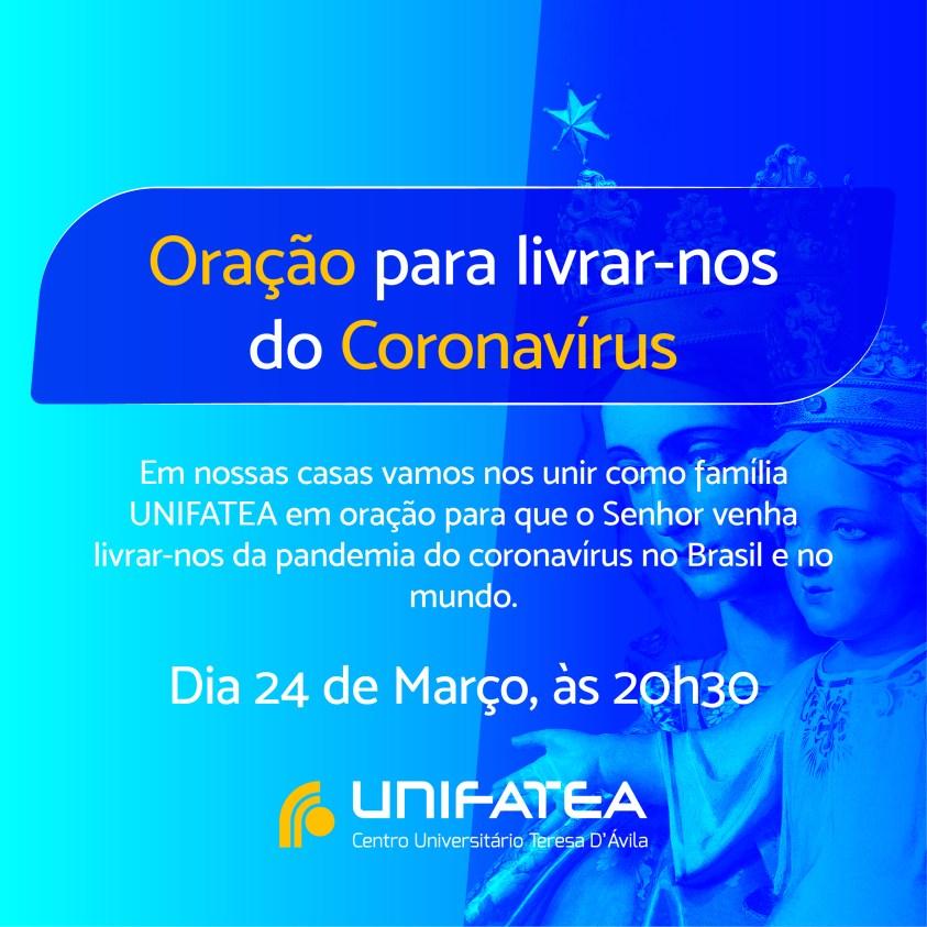 Oração Coronavírus
