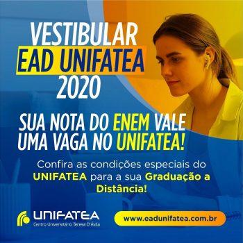 Pedagogia e Administração são os novos cursos EAD UNIFATEA