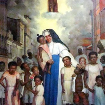 """13 de Agosto """"Santa Dulce dos Pobres""""  A primeira #santa #brasileira."""