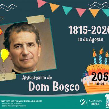Família Salesiana celebra aniversário de nascimento de Dom Bosco