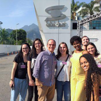 Alunos UNIFATEA visitam Globosat no Rio de Janeiro