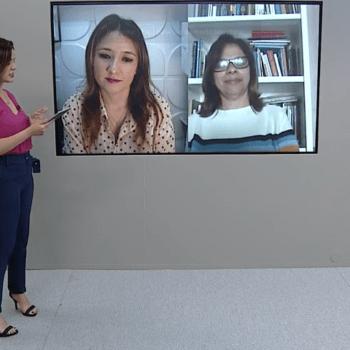 Participação da Profª Drª Cristina Bento no Vanguarda Comunidade fala sobre Educação a Distância