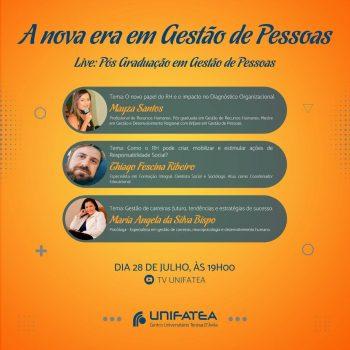 Novidades na Pós-Graduação: Curso Gestão de Pessoas promove live!