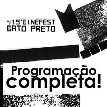 XV Cinefest Gato Preto – Oficinas, sessões e debates