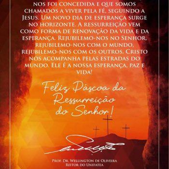 Feliz Páscoa da Ressurreição do Senhor!