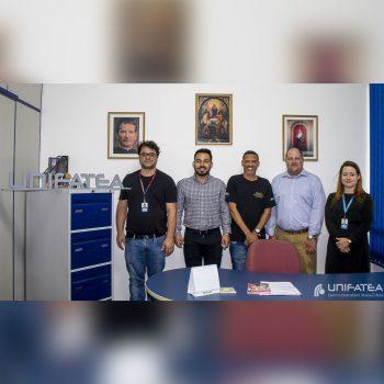 UNIFATEA recebe representantes de Universidade dos E.U.A.
