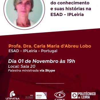 Internacionalização – PPG-DTI promove aula com Professora Carla Lobo de Leiria, Portugal