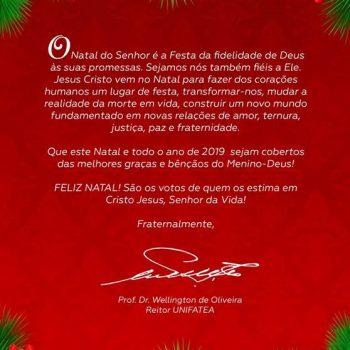UNIFATEA Informa – Natal