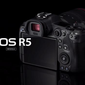 Canon EOS R5 anunciada com Gravação 8k!
