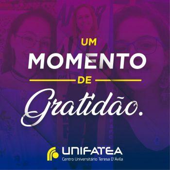 Demonstração de gratidão de alunos UNIFATEA marcam o encerramento do semestre